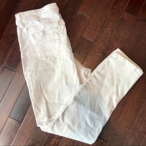 Kenneth Cole Reaction Distressed Denim Crops sz 4